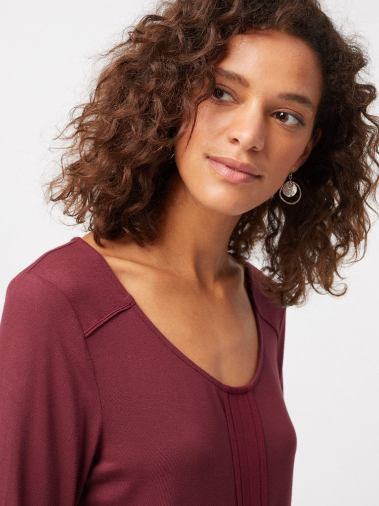 Megan Jersey Top