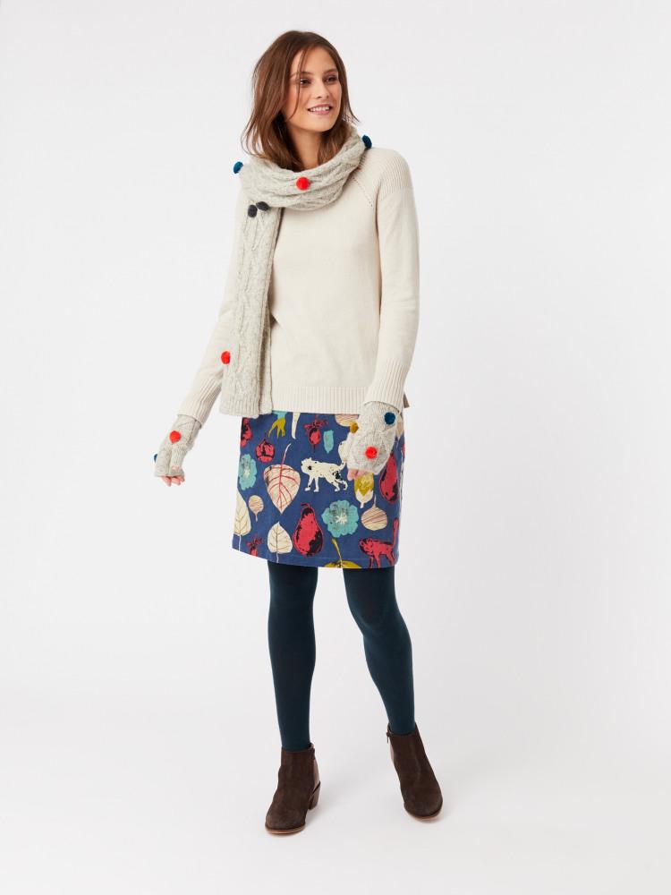 090ceea5ff25 Rosehip Mini Skirt (Foraging Blue Print)