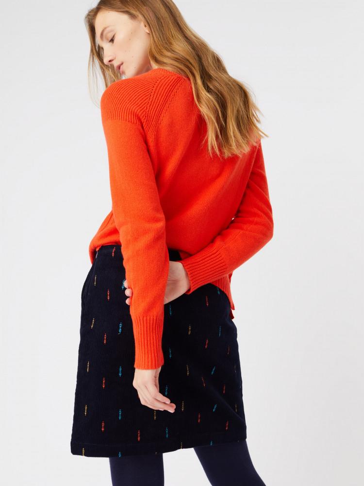 Crabapple Emb Skirt