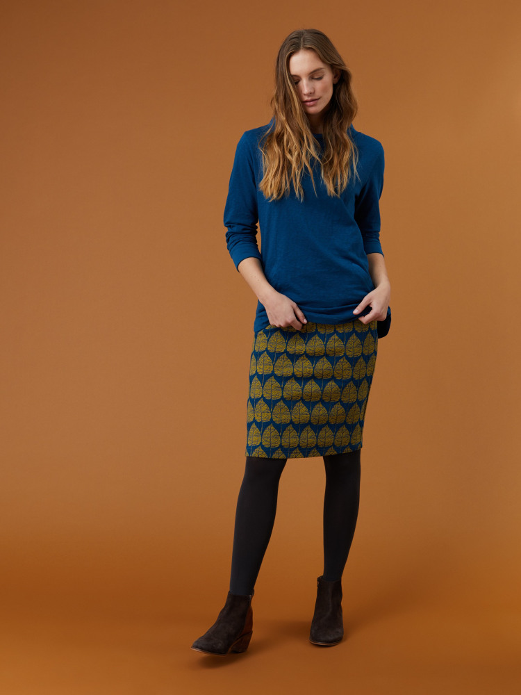 Little Thing Jacquard Jersey Skirt
