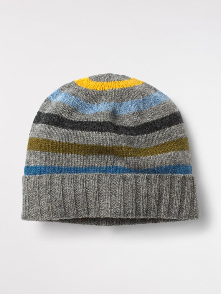 Stefan Stripe Beanie Hat