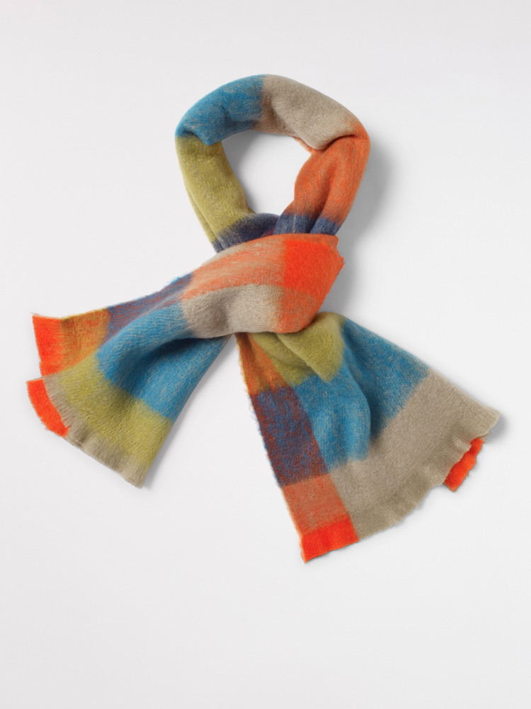 Ferne Check Colourblock Scarf