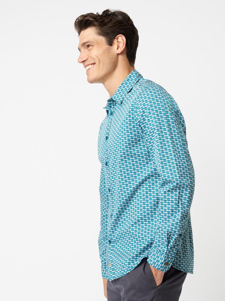 Beargeo Print Shirt