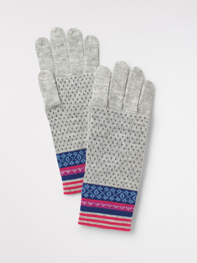 Ellie Fairisle Glove