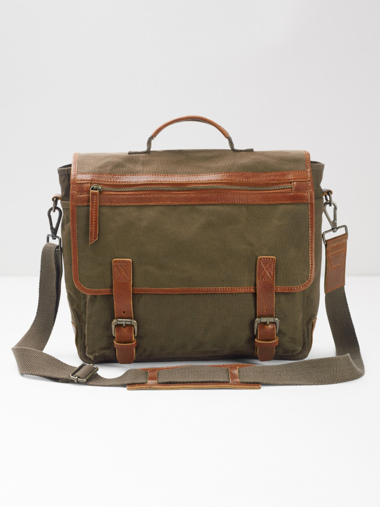 Jack Canvas Messenger Bag