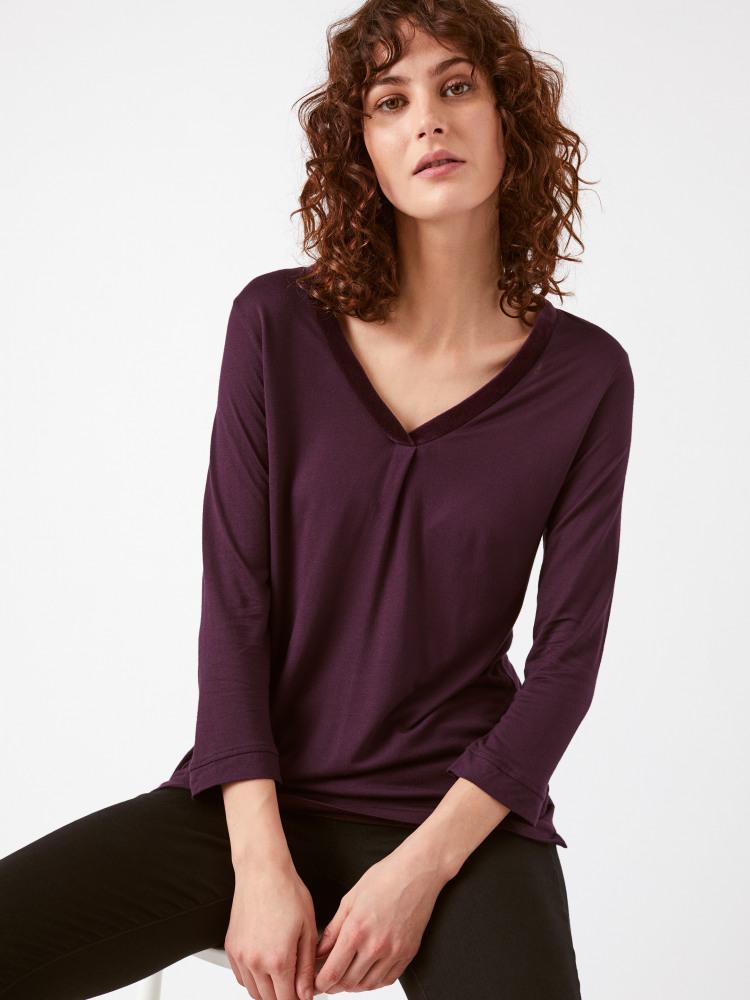 Be My Velvet Jersey Top