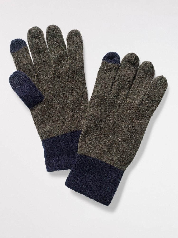 Henry Colourblock Tech Gloves
