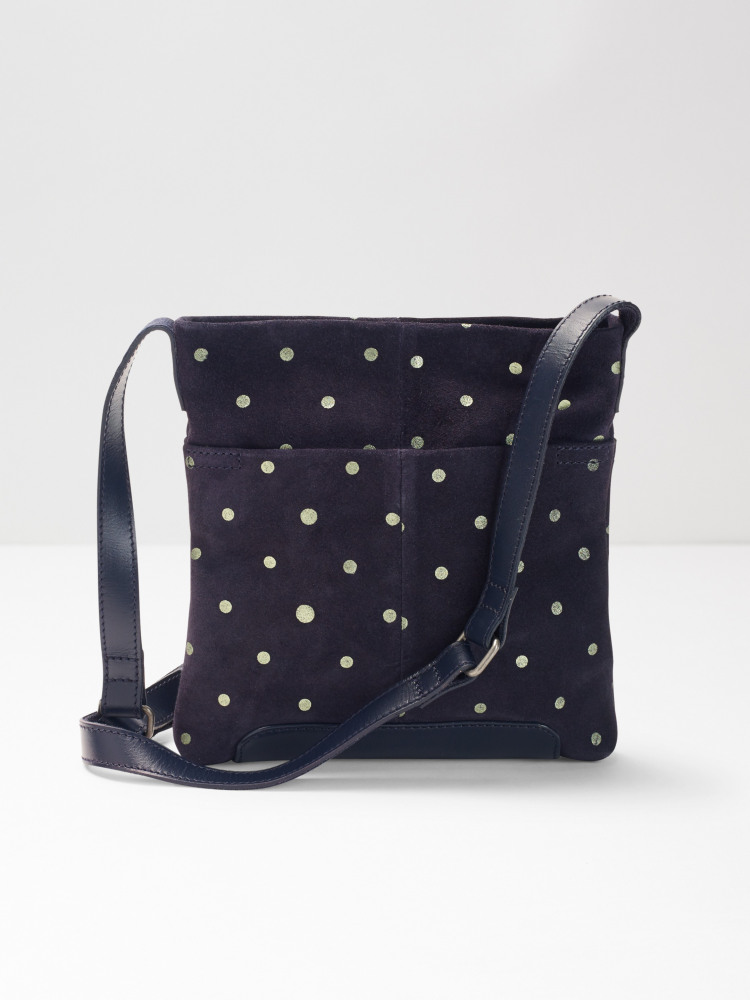 Mini Issy Suede Spot Xbody Bag