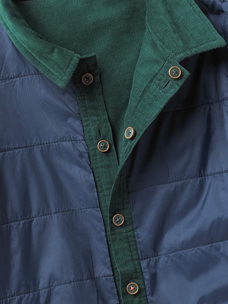 Reversible Cord Overshirt
