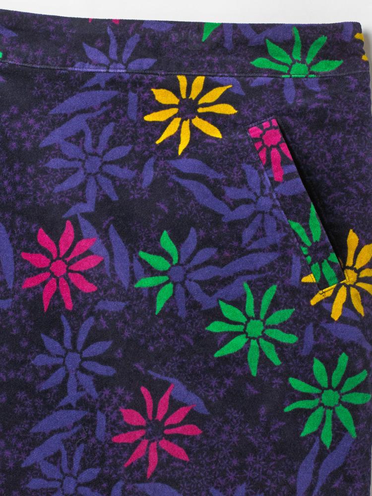 Wallflower Velvet Skirt