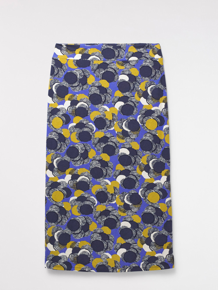 Domino Maxi Jersey Skirt