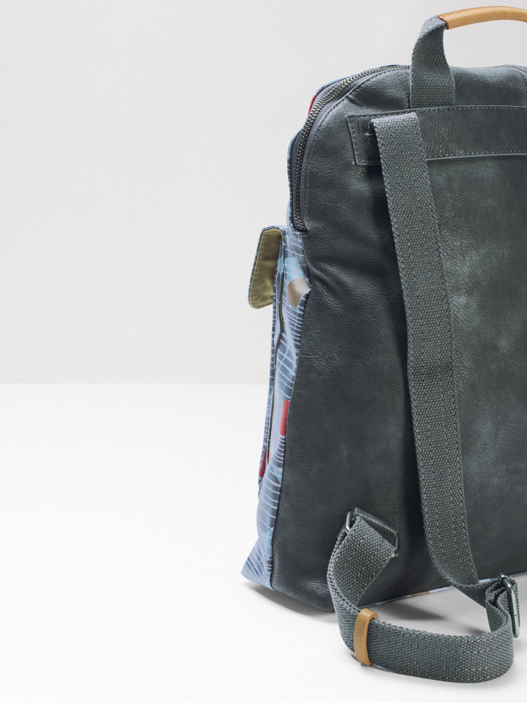 Coated Canvas Rucksack