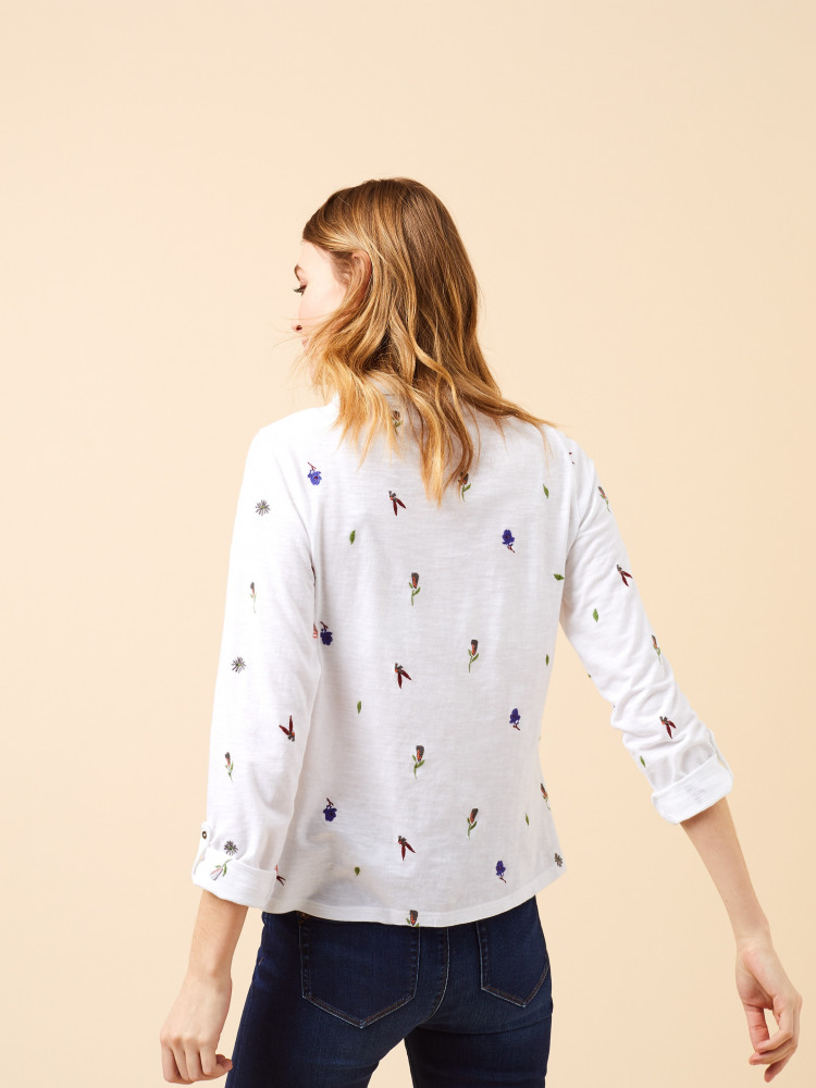 Eccles Embroidered Shirt