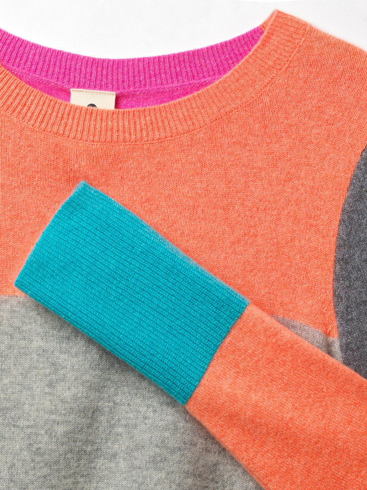 Cashmere Willow Colourblock Jumper