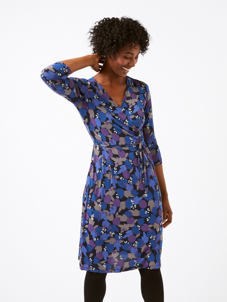 Anet Wrap Dress