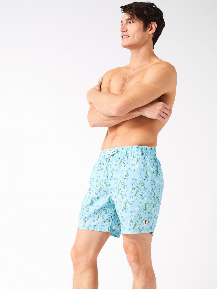Cranchor Print Swim Short
