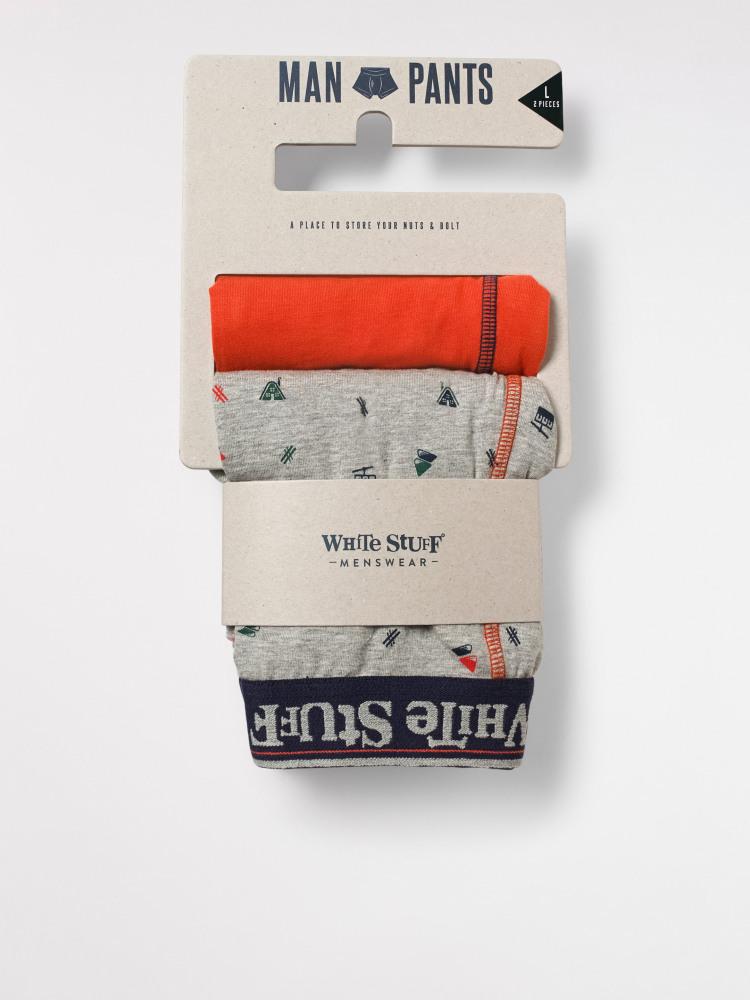 Ski Motif Boxer 2 Pack