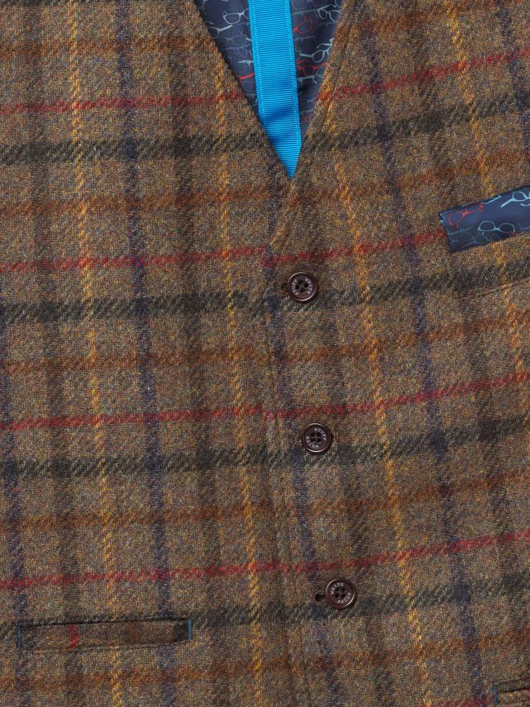 Canterbury Check Waistcoat