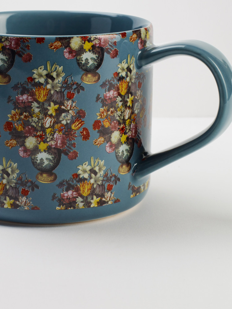 A Still Life Of Flowers Mug