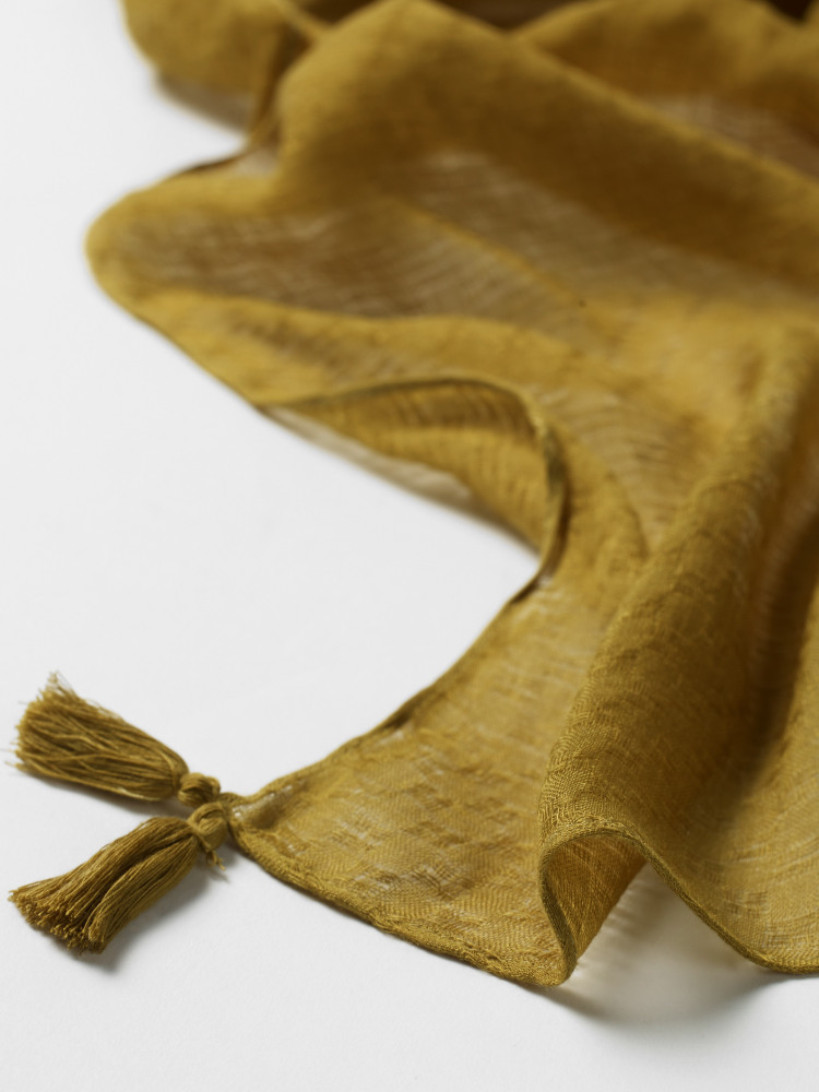 Pollie Texture Plain Scarf