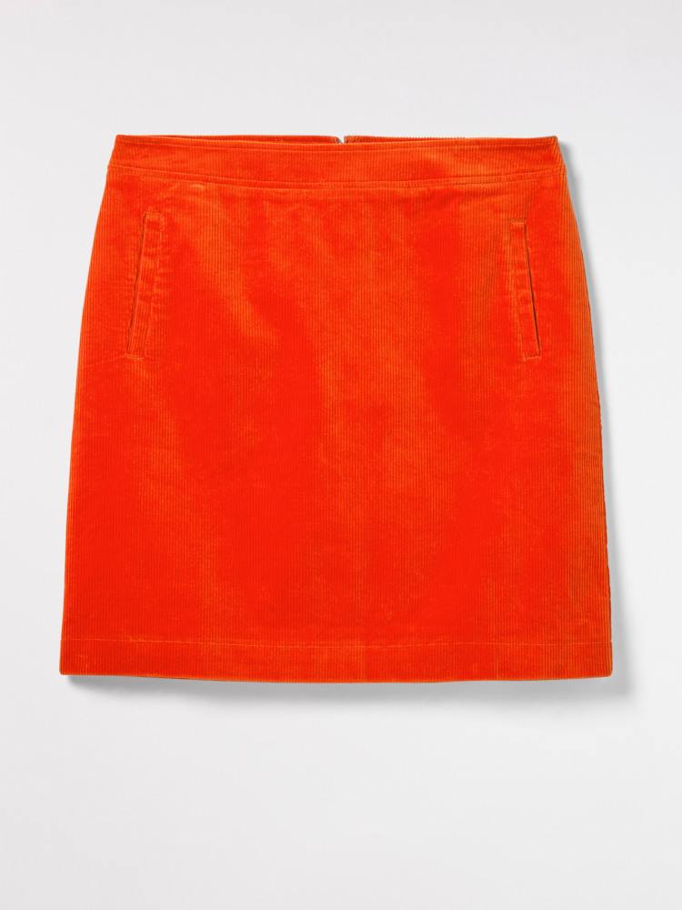 c8debca2b8 Iris Cord Skirt (Orange) | White Stuff