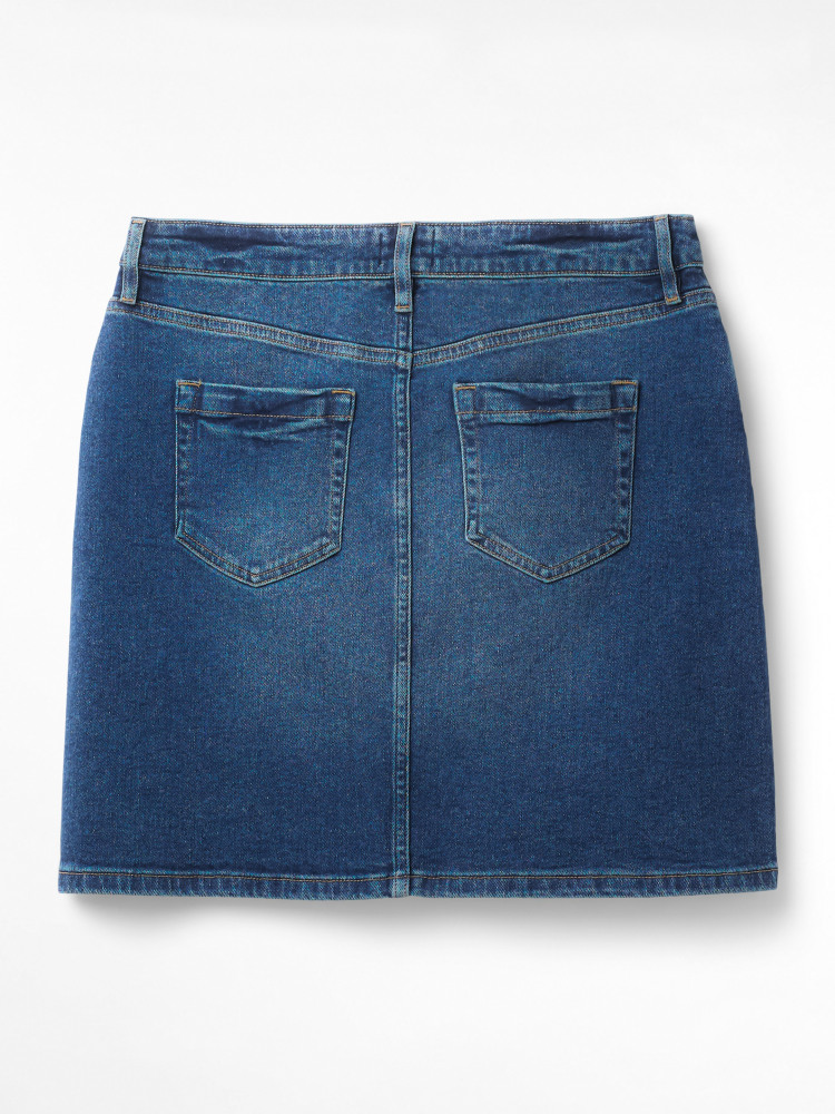 Casual Walk Denim Skirt
