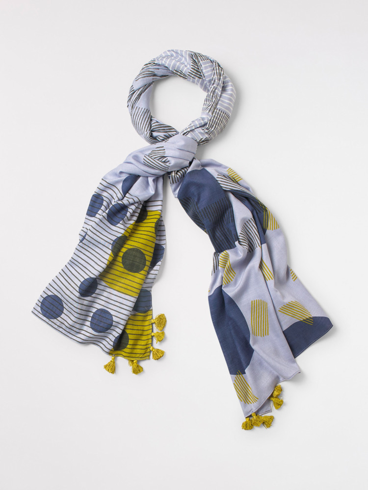 Linnea Layers Patchwork Scarf