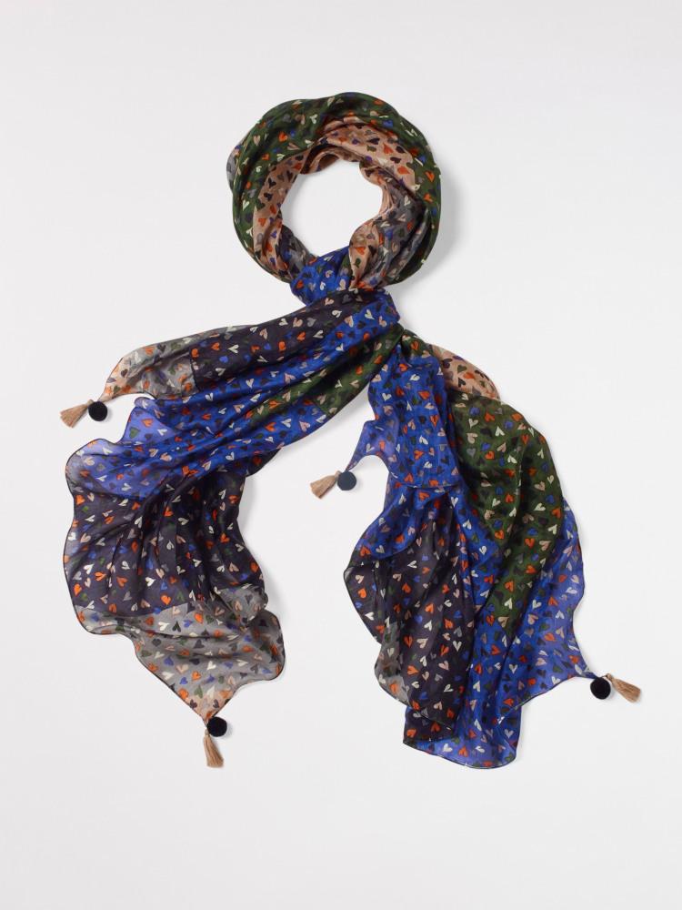 Sofia Printed Silk Scarf