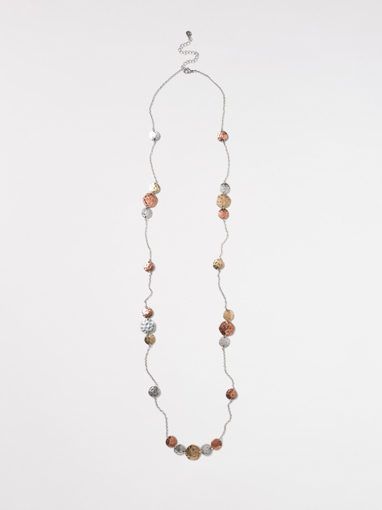 Stationed Circle Necklace