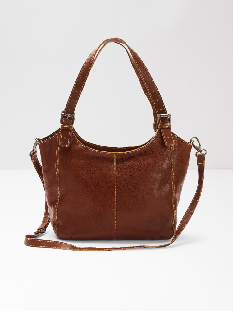 Bailey Zip Stitch Hobo
