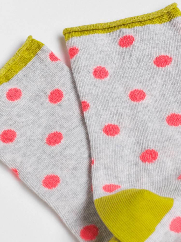 Neon Spot Single Sock
