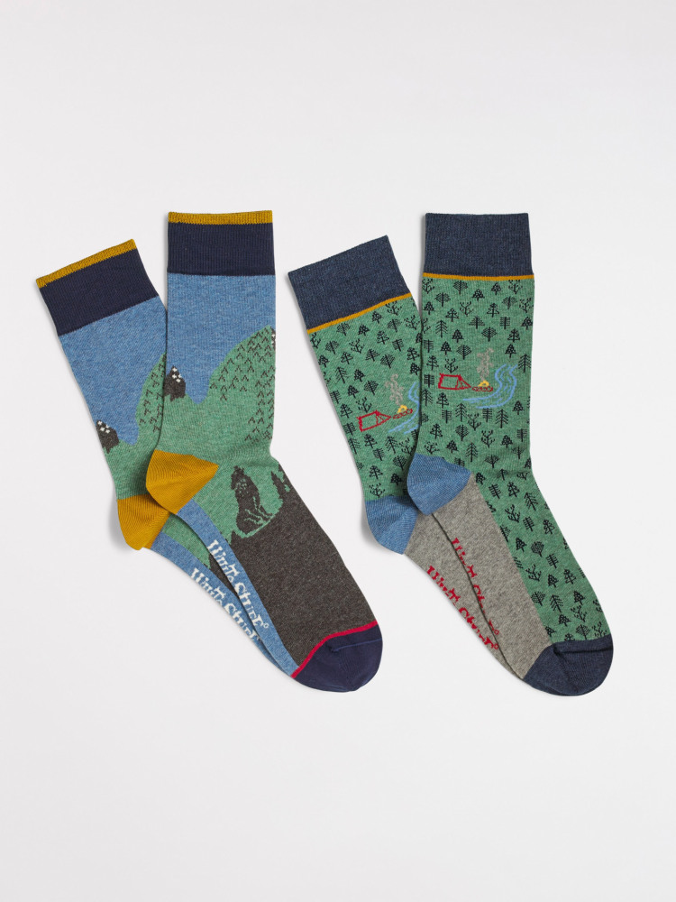 Mountain Trek 2 Pack Socks