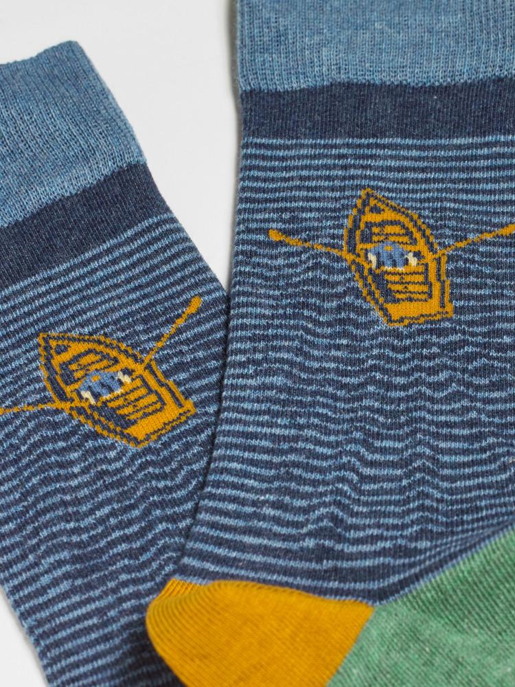 Stripe Rower 2 Pack Sock