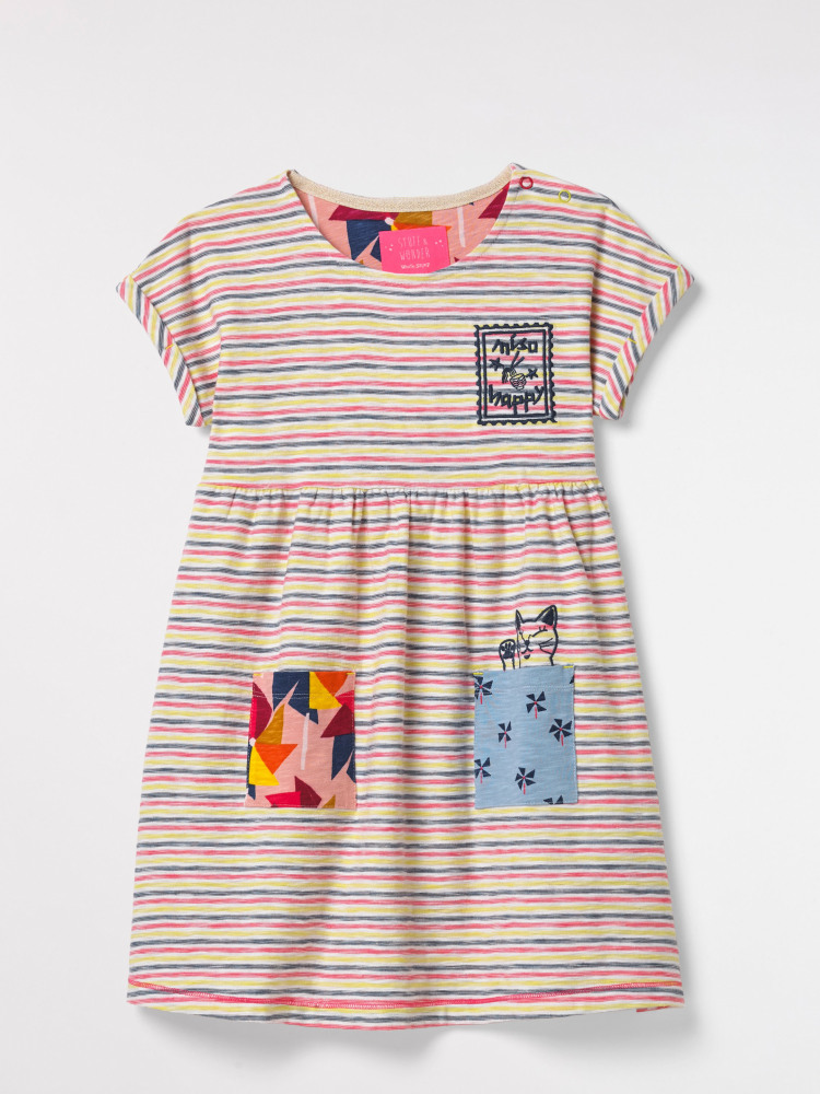 Suki Jersey Stripe Dress