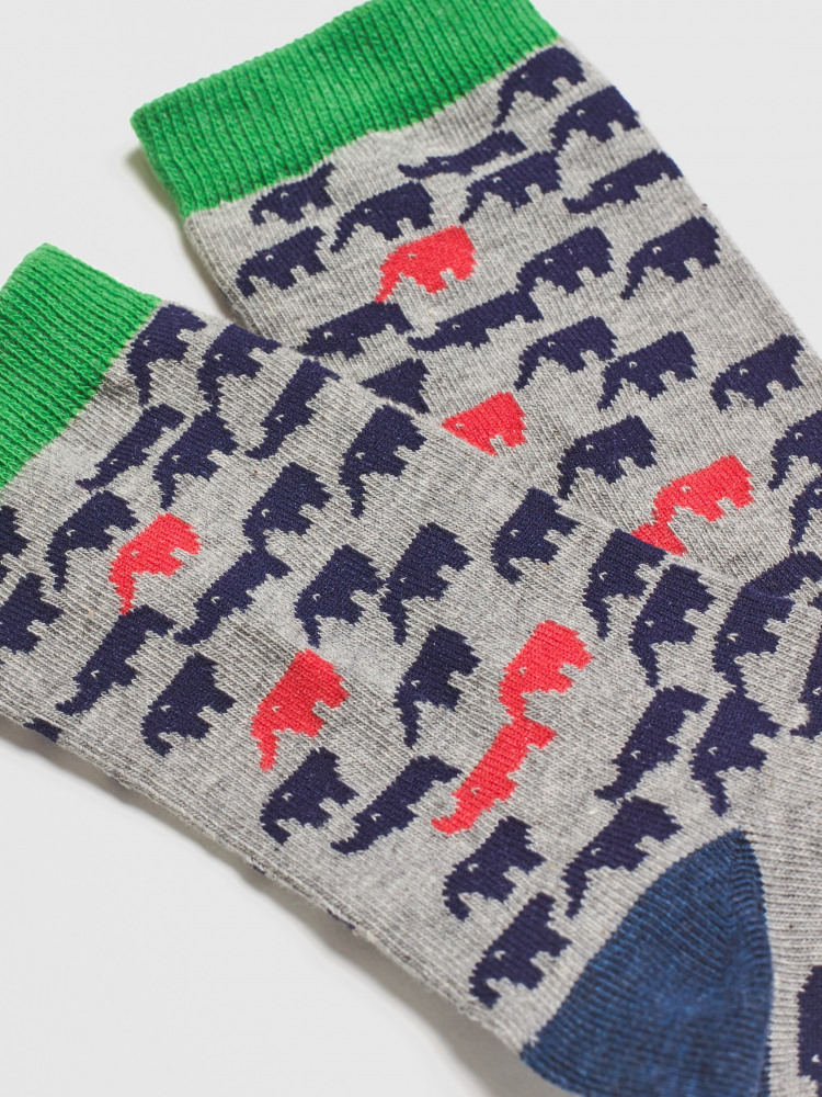 Carnival Elephant Sock 2 Pack