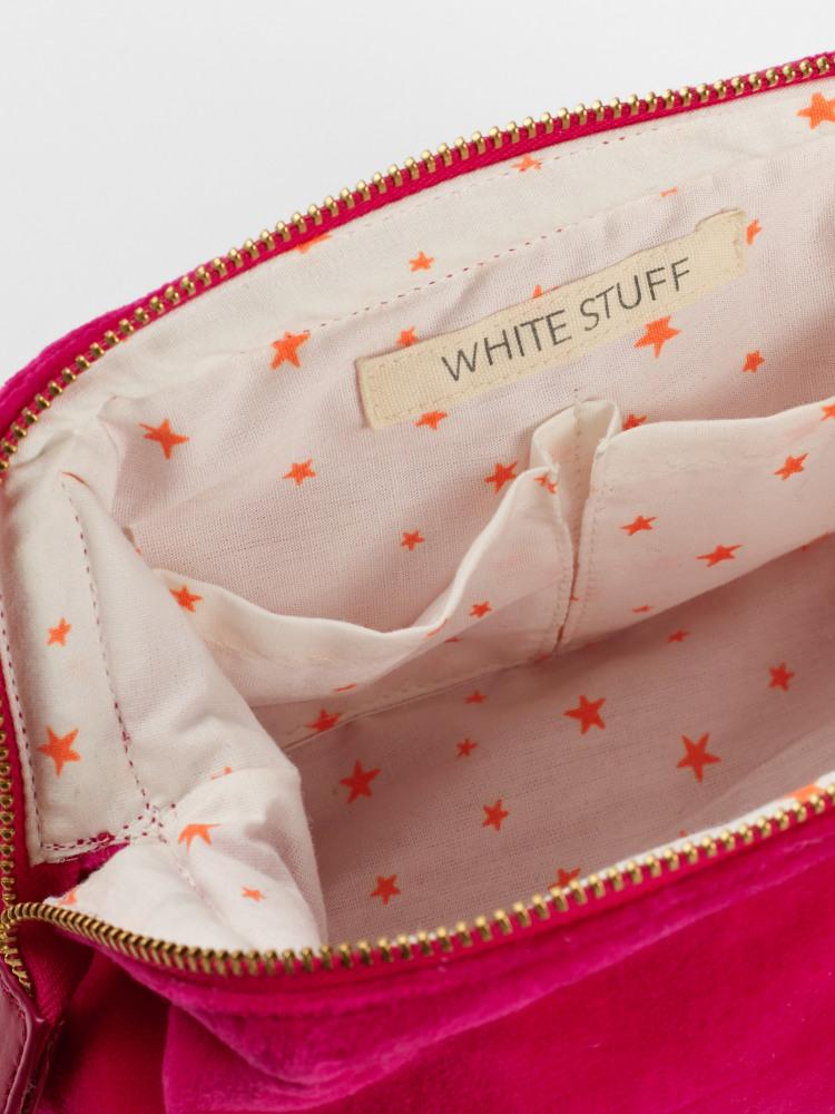 Plain Velvet Make Up Bag