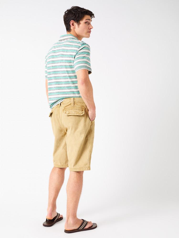 Valpy Jacquard Stripe Polo
