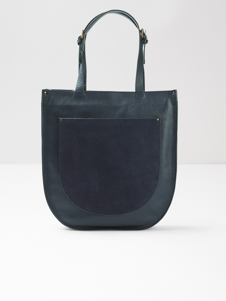 Greta Leather Tote Bag