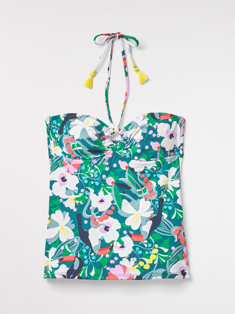 Tropical Toucan Tankini Top