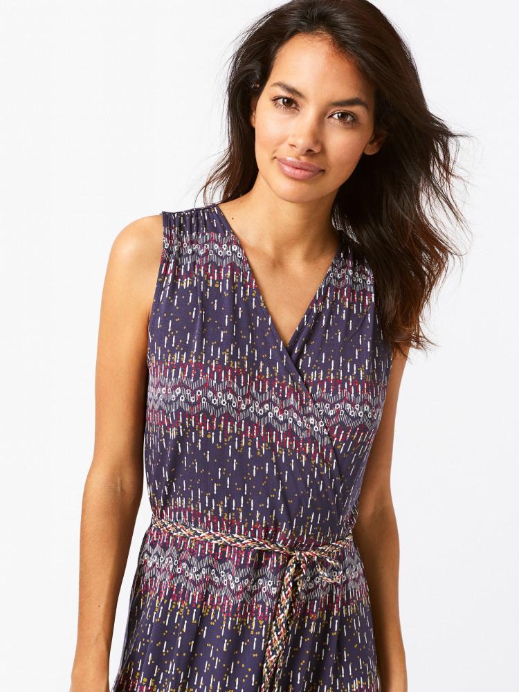 349b1e42538a4 Avery Wrap Dress (Cape Blue Print) | White Stuff