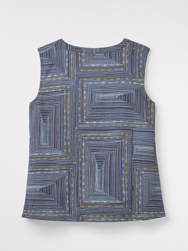 Pathways Linen Vest