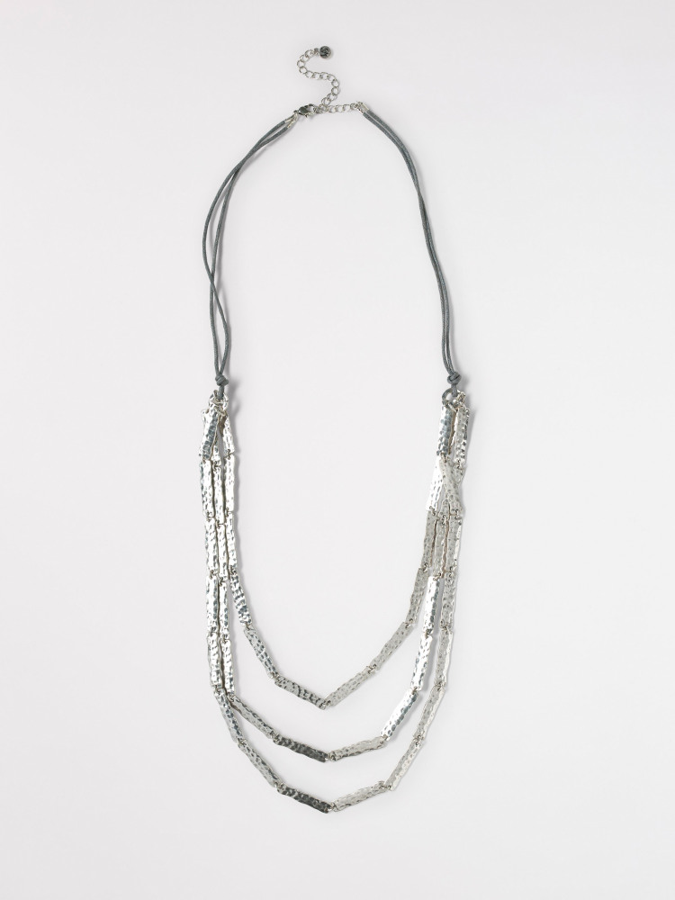 Layered Oblong Necklace