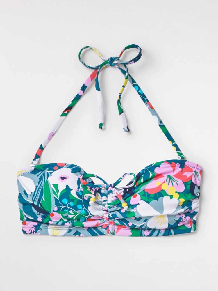Tropical Toucan Bandeau Top