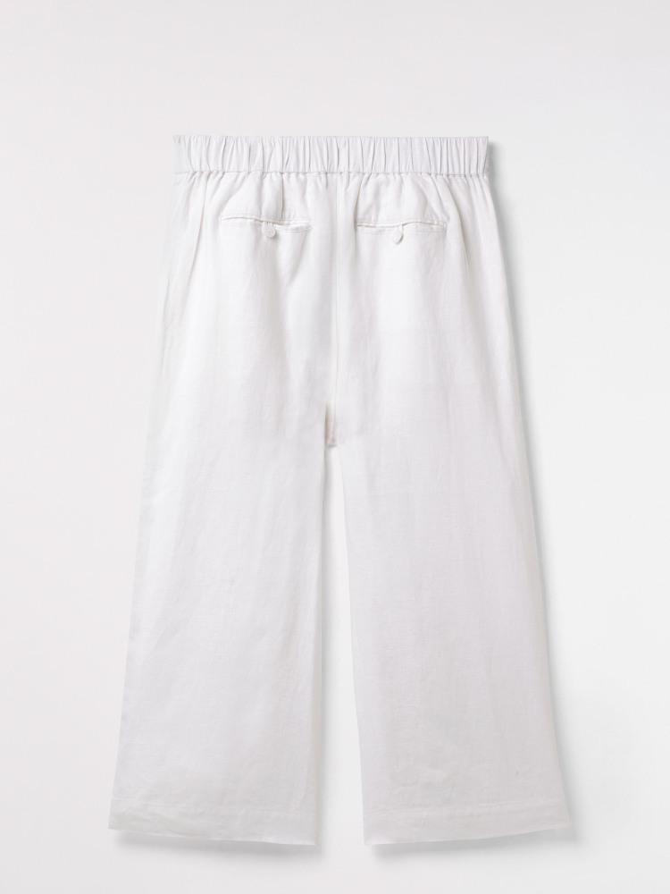 Athel Crop Linen Culottes