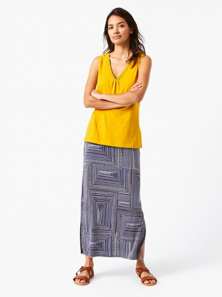 Ekon Jersey Maxi Skirt