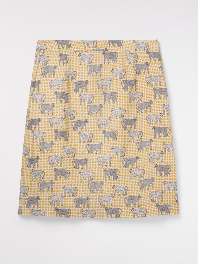 Safari Linen Skirt