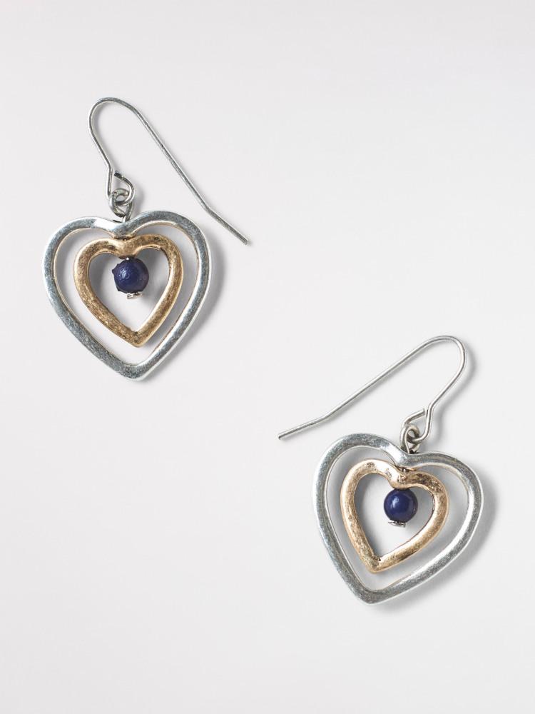Heart Necklace & Earring Set