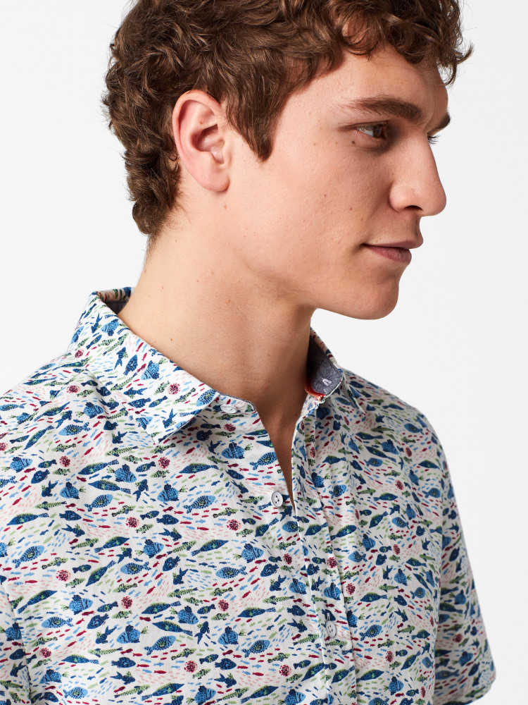 Fishery Print Shirt