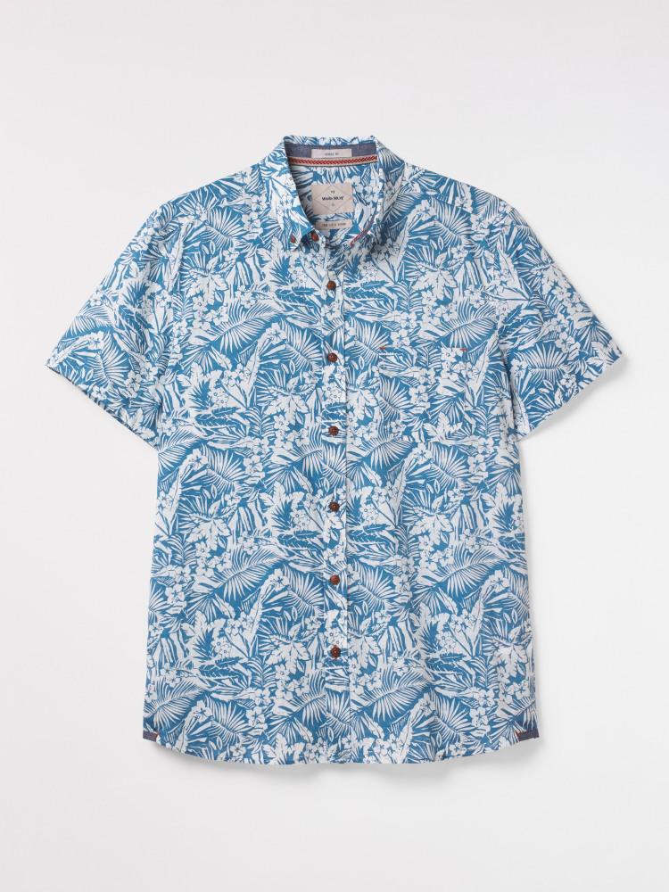 Botanical Print Shirt