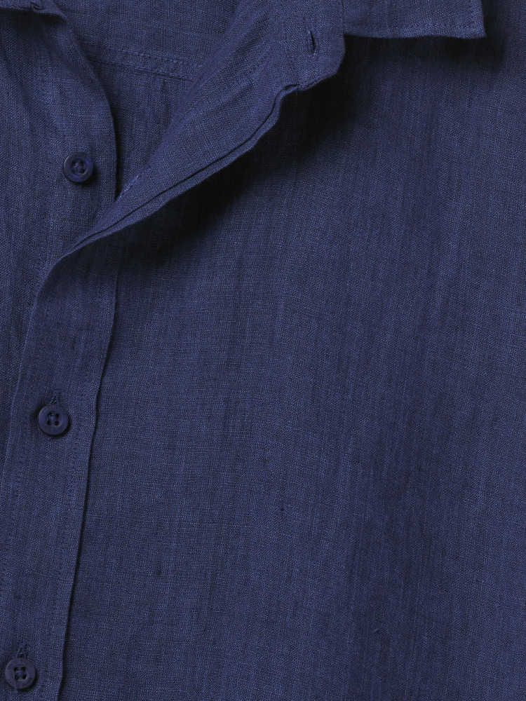 Lymington Short Sleeve Linen Shirt